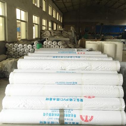 河北聚氯乙烯(PVC)防水卷材 1.0mm帶布企標防水卷材